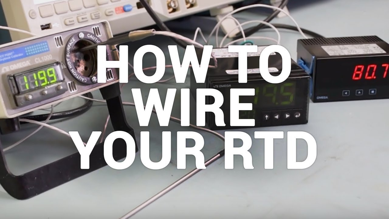 How to wire an RTD and get proper readings