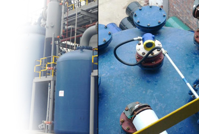 Ultrasonic Level Sensor Application in Above Ground Bulk Storage Tanks